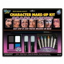 DELUXE FACE PAINTING KIT PRL WH/BK/PU/BL