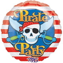 Partypro 565121 Pirate Party Mylar Balloon (18In.)