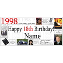 Partypro BANNER-1998 1998 Personalized Banner