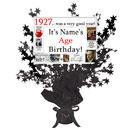 Partypro BANNER-CPB1927 1927 Customized Black Star Centerpiece