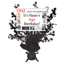 Partypro BANNER-CPB1942 1942 Customized Black Star Centerpiece