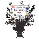 Partypro BANNER-CPB1994 1994 Customized Black Star Centerpiece