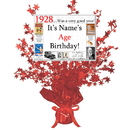 Partypro BANNER-CPR1928 1928 Customized Red Star Centerpiece