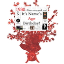 Partypro BANNER-CPR1930 1930 Customized Red Star Centerpiece