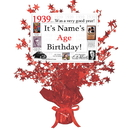 Partypro BANNER-CPR1939 1939 Customized Red Star Centerpiece
