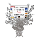 Partypro BANNER-CPS1994 1994 Customized Silver Star Centerpiece