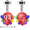 Partypro BANNER-DJBB94 94Th Balloon Blast Jumbo Custom Dangler