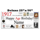 Partypro BANNER-X1917 1917 Deluxe Personalized Banner