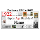 Partypro BANNER-X1922 1922 Deluxe Personalized Banner