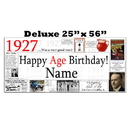 Partypro BANNER-X1927 1927 Deluxe Personalized Banner