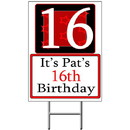 Partypro BANNER-Y17 Personalized 17 Year Old Yard Sign