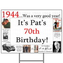 Partypro BANNER-Y1944 1944 Personalized Yard Sign