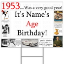 Partypro BANNER-Y1953 1953 Personalized Yard Sign