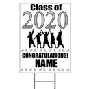 Partypro BANNER-Y2020SIL 2020 Silver Custom Graduation Yard Sign