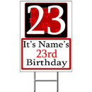 Partypro BANNER-Y23 Personalized 23 Year Old Yard Sign