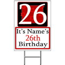 Partypro BANNER-Y26 Personalized 26 Year Old Yard Sign