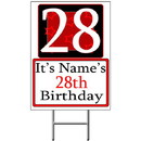 Partypro BANNER-Y28 Personalized 28 Year Old Yard Sign