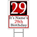Partypro BANNER-Y29 Personalized 29 Year Old Yard Sign