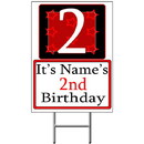 Partypro BANNER-Y2 Personalized 2 Year Old Yard Sign