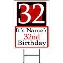 Partypro BANNER-Y32 Personalized 32 Year Old Yard Sign