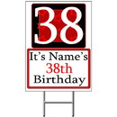 Partypro BANNER-Y38 Personalized 38 Year Old Yard Sign