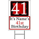 Partypro BANNER-Y41 Personalized 41 Year Old Yard Sign