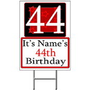 Partypro BANNER-Y44 Personalized 44 Year Old Yard Sign
