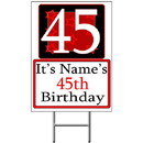 Partypro BANNER-Y45 Personalized 45 Year Old Yard Sign