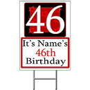 Partypro BANNER-Y46 Personalized 46 Year Old Yard Sign