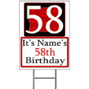 Partypro BANNER-Y58 Personalized 58 Year Old Yard Sign