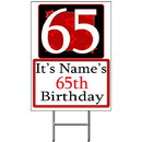 Partypro BANNER-Y65 Personalized 65 Year Old Yard Sign