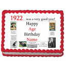 Partypro EDIBLE-1922 1922 Personalized Icing Art