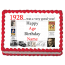 Partypro EDIBLE-1928 1928 Personalized Icing Art