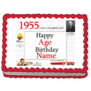 Partypro EDIBLE-1955 1955 Personalized Icing Art