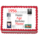 Partypro EDIBLE-1956 1956 Personalized Icing Art