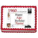 Partypro EDIBLE-1960 1960 Personalized Icing Art