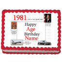 Partypro EDIBLE-1981 1981 Personalized Icing Art