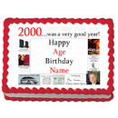 Partypro EDIBLE-2000 2000 Personalized Icing Art