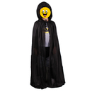 TopTie Full Length Single Layer Hooded Cloak Cape Halloween Costume Accessory