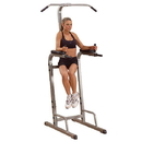 PowerLine Vertical knee raise dip station