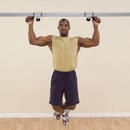 PowerLine Body-Solid Lat Pull-Up / Chin-Up Station
