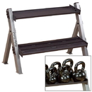 PowerLine Dumbell/Kettlebell Rack