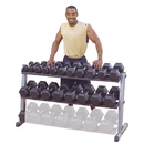 Body-Solid Pro Dumbbell Rack with 2 Tier