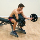 Body-Solid Preacher Curl Station (Attachment for Benches)