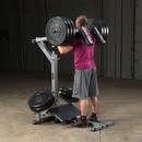 Body-Solid Leverage Squat Calf Machine