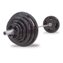 Body-Solid 400 LB Rubber Grip Olympic Set