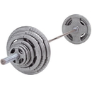 BodySolid 255 LBS Grey Hand Grip Olympic Plate