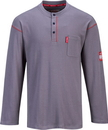 Portwest FR02 Bizflame Henley Neck T-Shirt