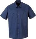 Portwest S124 Industrial Work Shirt S/S (Navy,XXL)
