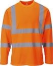 Portwest S278 Hi-Vis T-Shirt Long Sleeves
